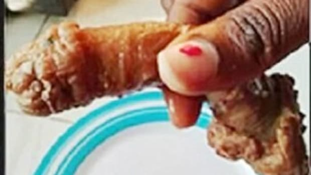 Woman Shocked To Find Meat Shaped Like Penis In Food Promo Image