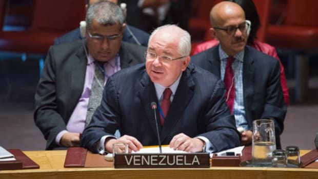 Venezuela Accuses Israel Of War Crimes At UNSC Promo Image