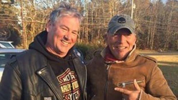 Biker Gang Rescues A Stranded Bruce Springsteen Promo Image