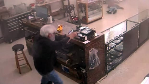 Robbers Target Wrong Store, One Dies In Seconds (Video) Promo Image