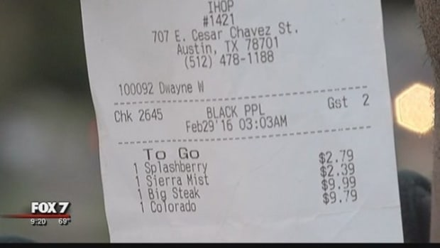 IHOP Customers Check Receipt, Immediately Get Waiter Fired (Photo) Promo Image