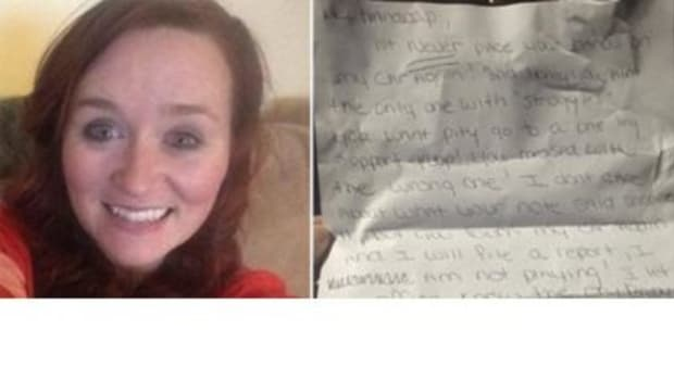 Lady With Prosthetic Leg Receives Shocking Letter From Neighbor (Photo) Promo Image