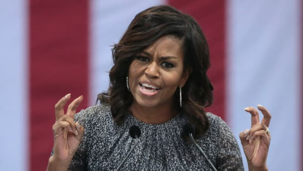 Michelle Obama Vacations On Richard Branson's Island (Photo) Promo Image