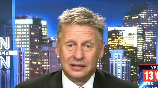 Gary Johnson: 'I Guess I Wasn't Meant To Be President' (Video) Promo Image
