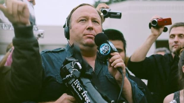 Alex Jones Says He 'Had Over 150 Women' By Age 16 (Video) Promo Image