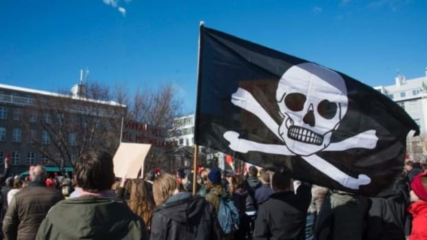 Pirate Party Triples Seats In Iceland's Parliament Promo Image