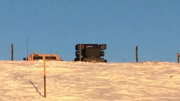 Photos Purportedly Show Missile System at Standing Rock Promo Image