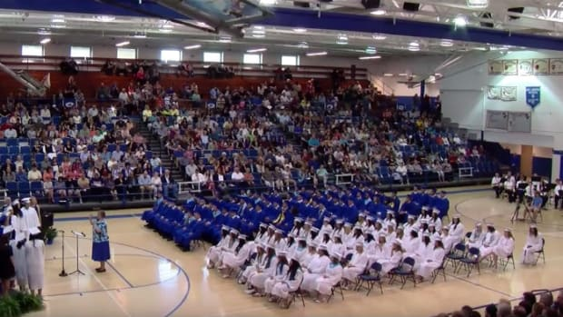 Students Recite Prayer At Graduation Ceremony (Video) Promo Image