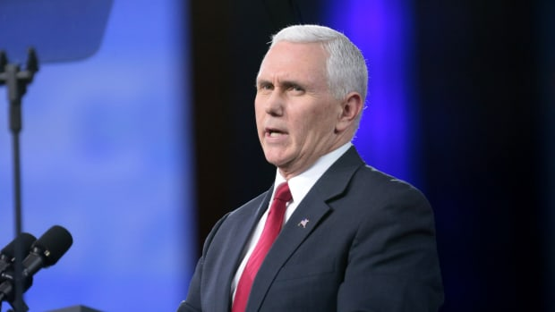Pence: Liberals Care About Climate 'For Some Reason' Promo Image