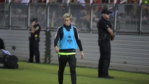 Washington Spirit Prevents Megan Rapinoe From Protesting Promo Image