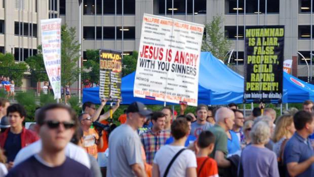North Carolinians Prepare For Muslim Confrontation Promo Image
