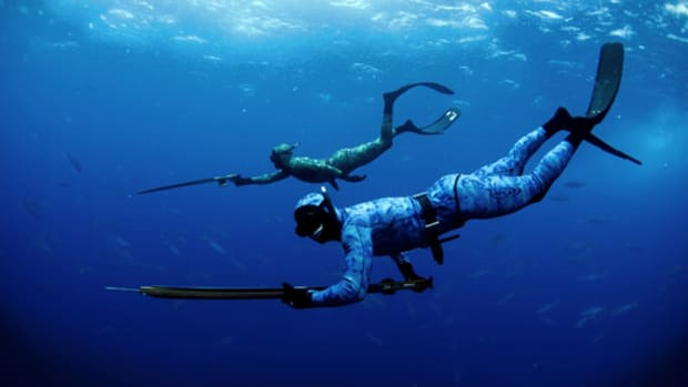 Man Survives Freak Spearfishing Accident (Photo) Promo Image