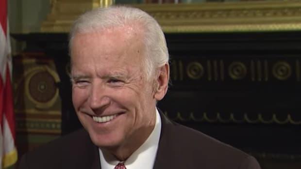 """Biden: 'Grow Up, Donald"""" (Video) Promo Image"""