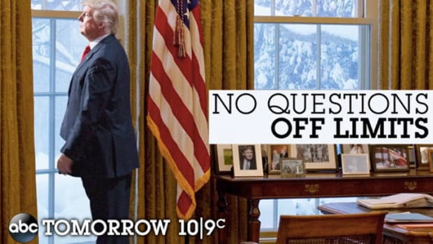 ABC Uses Fake Trump Image To Promote Interview Promo Image