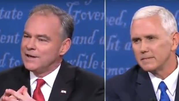 Pence Denies Real Trump Quotes During Debate (Video) Promo Image