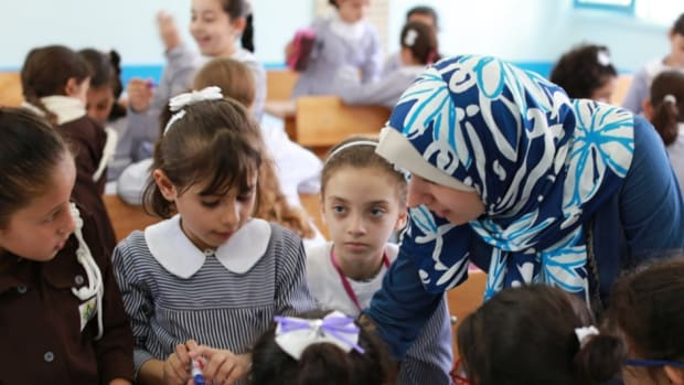 U.N.-Run Schools In Palestine Demonize And Deny Israel Promo Image