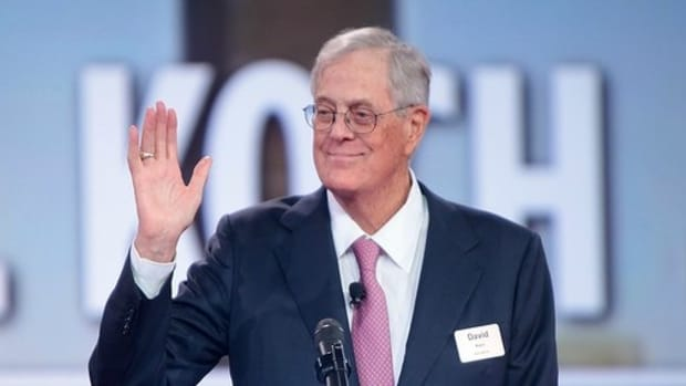 David Koch Meets With Trump After Months Of Tension Promo Image