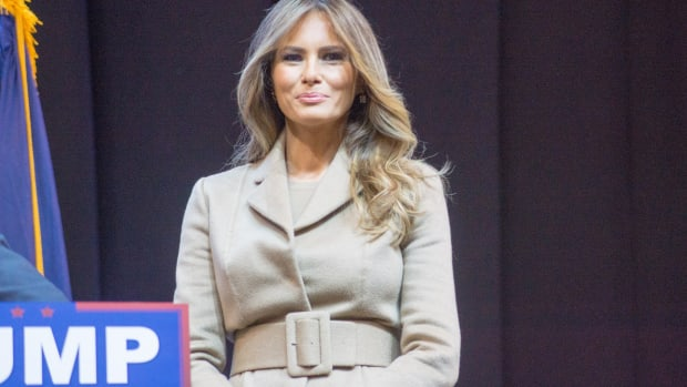 FLOTUS Melania Trump May Never Move Into White House Promo Image