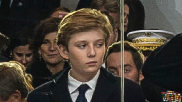 Barron Trump Invites Friends To Stay At White House Promo Image
