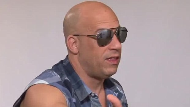 Vin Diesel Creeps Out Reporter (Photos/Video) Promo Image