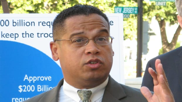 Rep. Keith Ellison Announces Bid For DNC Chair Promo Image