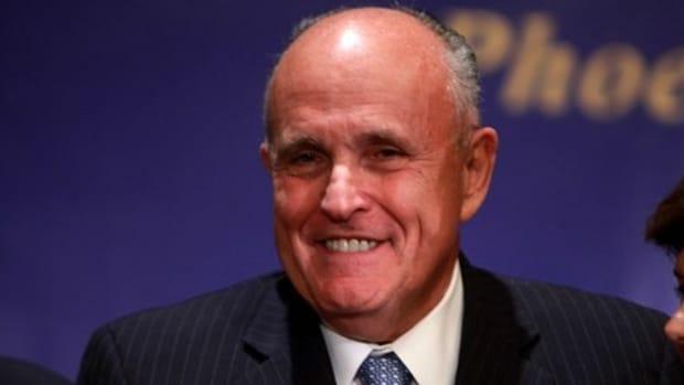 Rudy Giuliani Tells 9/11 Sex Joke At Pre-Inauguration Promo Image