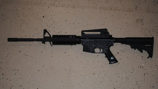 Judge Dismisses Sandy Hook Lawsuit Against Gunmaker Promo Image