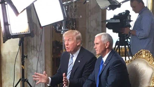 Report: Trump Team Planning Post-Election TV Network Promo Image