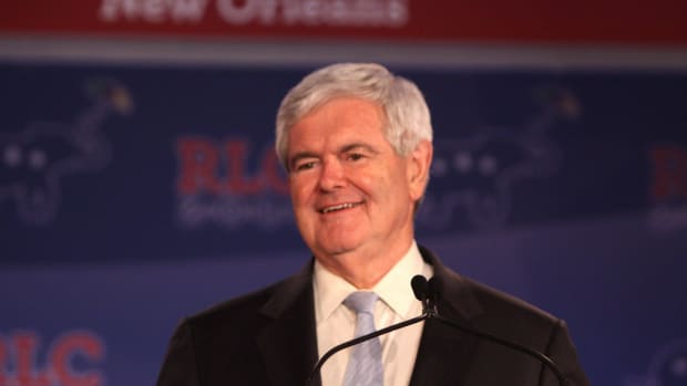 Gingrich Would Help Trump Promo Image
