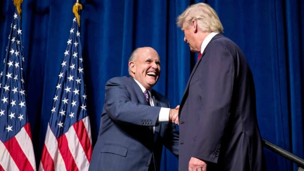 Pataki: Giuliani Has ''Stature'' To Be Sec. Of State Promo Image