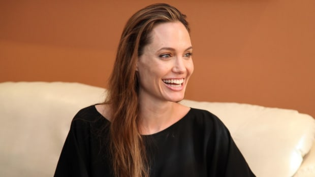 Angelina Jolie: Brad Pitt Is A 'Wonderful' Father Promo Image