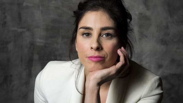 Followers Roast Sarah Silverman For 'Swastika' Mistake (Photo) Promo Image