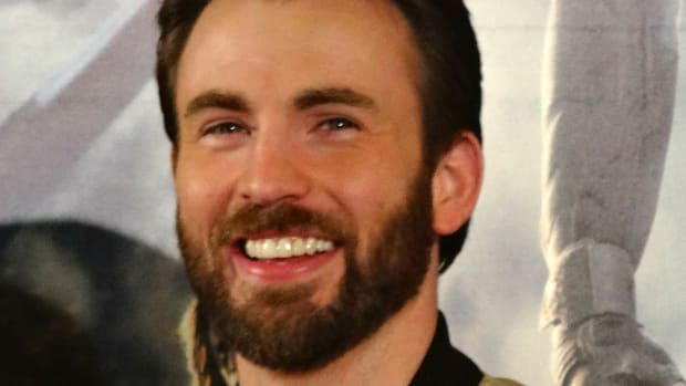 Shocking Painting Of Chris Evans Sparks Outrage (Photo) Promo Image