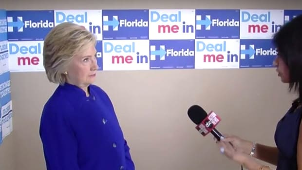 Reporter Asks Clinton To Take Neurocognitive Test (Video) Promo Image