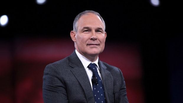 Trump Chooses Climate Skeptic To Head EPA Promo Image