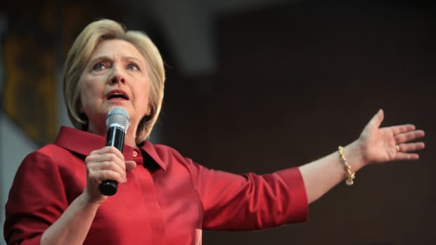 Financial Analyst: Clinton Has 75 Percent Chance To Win Promo Image
