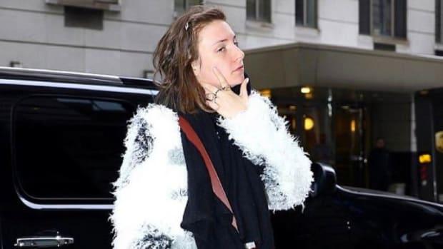 Lena Dunham Says She's Been Menstruating For 13 Days Promo Image