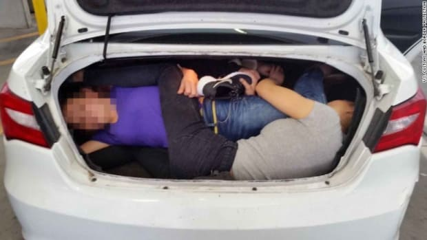 Man Stopped At The Border With Four People In His Trunk (Photo) Promo Image