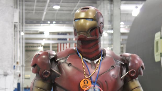 Inventor Builds Flying 'Iron Man' Suit (Video) Promo Image