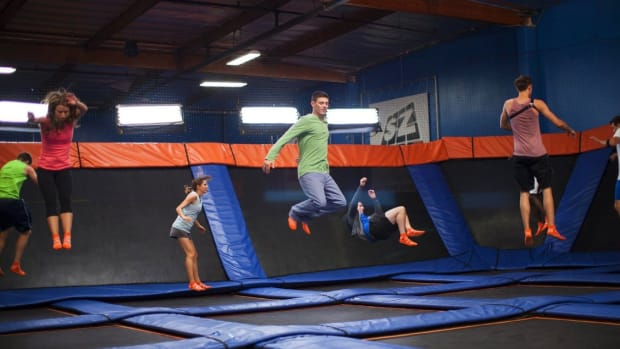 Dad Legally Brings Gun To Trampoline Park, Cops Called (Video) Promo Image
