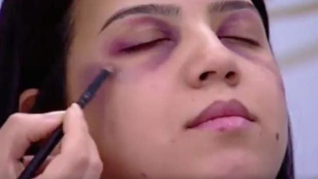 TV Show: Makeup Tips For Hiding Domestic Violence (Video) Promo Image