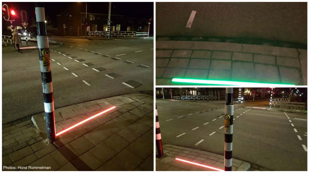 New Pavement Lights For Smartphone Users In Dutch Town Promo Image