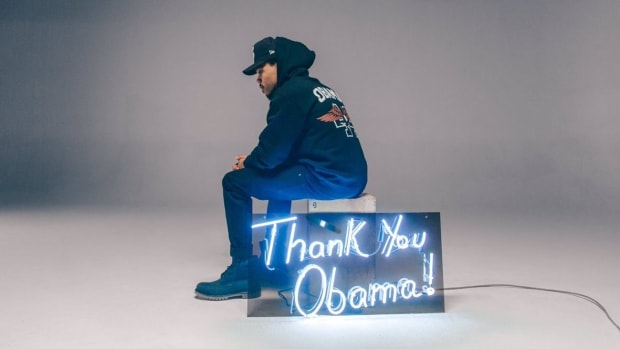 Chance The Rapper Unveils Obama-Inspired Clothing Line (Photos) Promo Image