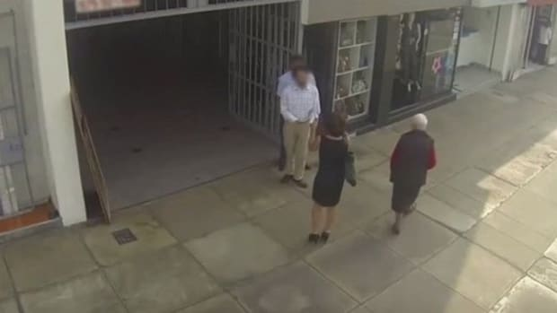 Man Harasses Woman On The Street, Calls Her 'Piggy' - Then He Gets Shock Of His Life (Video) Promo Image