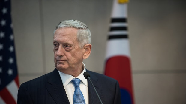 Mattis Contradicts Trump On Russian Policy Promo Image