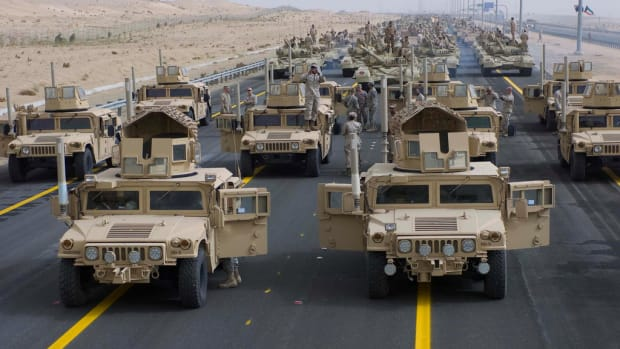 Study Finds Support For Defense Spending Cut Promo Image