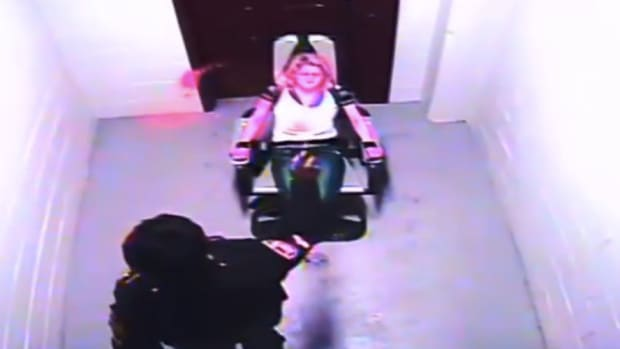 Cop Pepper Sprays Woman Held In Restraint Chair (Video) Promo Image