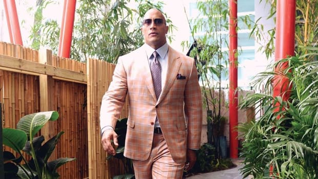 'The Rock' Gives Opinion On Presidential Election (Photo) Promo Image