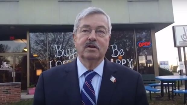 Iowa Governor: Take Atheist Kids To Church (Video) Promo Image