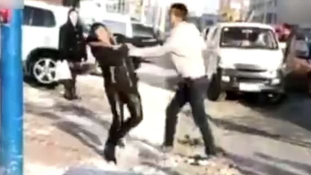 Son Beats Up Parents After They Buy Him Apartment (Video) Promo Image